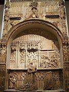 Burgos - Museo de Burgos, sepulcro de Juan de Padilla, Gil de Siloe.jpg