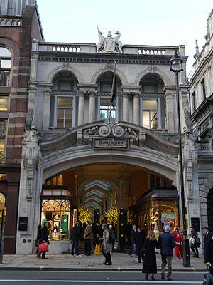 Samuel Ware - Burlington Arcade, London, 2015