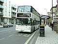 Bus in Canute Road, Southampton - geograph.org.uk - 1994579.jpg
