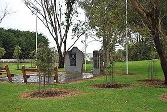 Bushfield, Victoria - War memorial