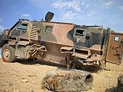 Bushmaster Counter IED Lane Tarin Kowt