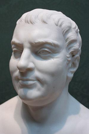 Thomas Hollis (1720–1774) - Bust of Thomas Hollis, by Joseph Wilton, National Portrait Gallery, London