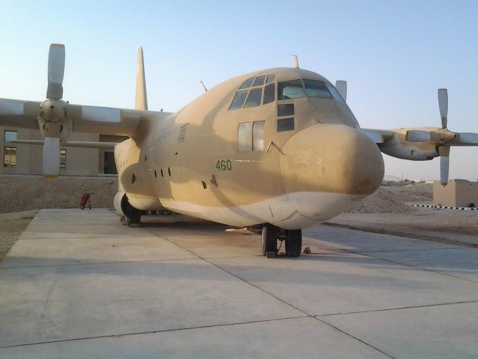 C-130 at Riyath Air base Museum