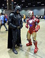 C2E2 2015 - Batman & Iron Man (17118364698).jpg