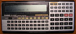 Image illustrative de l'article Casio FX-850P