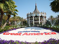 CA Great America rocks fountain carousel 2008.jpg