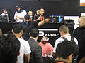 CES 2012 - SMS Audio - boxer Floyd Mayweather sign for fans (6791472686).jpg