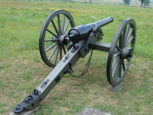 6th Arkansas Field Battery - Etter's Battery was initially equipped with six, 10lb Parrott guns