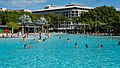Cairns Esplanade Lagoon Pool with Mantra Esplanade in the background - panoramio.jpg