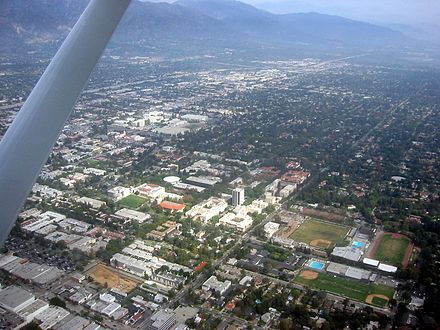 Aerial view of Caltech in Pasadena, California Caltech from the air.jpg