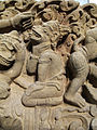 Cambogia, architrave con storie di rama, lakasmana, sugriva e valin, da vat baset, stile di baphuon, xi sec. 10.JPG