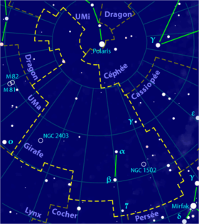 Image illustrative de l'article Girafe (constellation)
