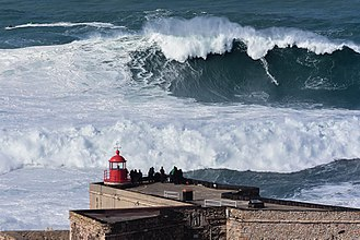 Guinness World Records - The North Beach (Nazaré, Portugal) listed on the Guinness World Records for the biggest waves ever surfed.