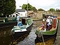 Canal boats at Trevor Basin - geograph.org.uk - 1570284.jpg