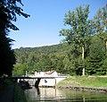 Canal de la Marne au Rhin, écluse 27. Lock nr. 27 in the Rhine Marne canal west of Saverne, France. - panoramio.jpg