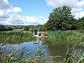 Canal sluice gate near Ebear Bridge - geograph.org.uk - 227849.jpg