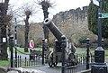 Cannon outside Ludlow Castle - geograph.org.uk - 2237701.jpg