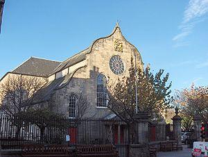 Canongate Kirk Edinburgh front view