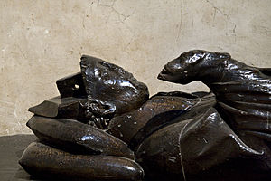 John Peckham - Effigy from Peckham's tomb in Canterbury Cathedral