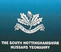 Cap badge of The South Nottinghamshire Hussars Yeomanry.jpg