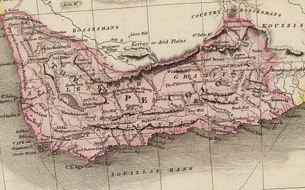 Map of the Cape of Good Hope in 1809. Cape Colony00.jpg