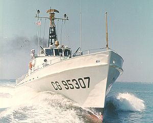Cape Current WPB-95307 underway 1963