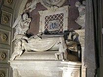 Cappella del cardinale di portogallo 03 tomba del cardinale di antonio e bernardo rossellino 05.JPG