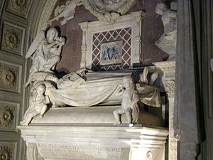 James of Portugal - His tomb made by Antonio del Rossellino