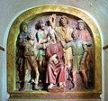 Cappella della casa di caifa, gesù oltraggiato, attr. a benedetto buglioni ed agnolo di polo, 02.jpg