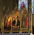Cappella maggiore, mariotto di nardo, trittico della trinità, 1416.JPG