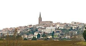 Caraman, Haute-Garonne - Image: Caraman Vue du Nord