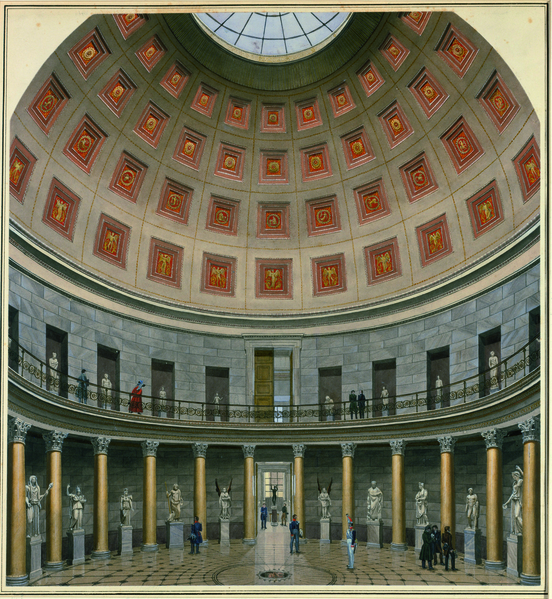 Carl Emanuel Conrad Rotunde des Museums am Lustgarten