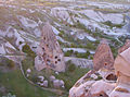 Carved dwellings in a Fairy Chimney,Cappadocia region, Turkey.jpg
