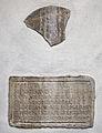 Casa buonarroti, iscrizioni romane 02.JPG