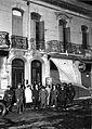 Casa del depuesto Presidente Hipólito Yrigoyen, después del saqueo.jpg