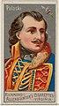 Casimir Pulaski, from the Great Generals series (N15) for Allen & Ginter Cigarettes Brands MET DP834794.jpg