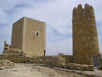 Ulldecona - Image: Castell d'Ulldecona 1