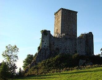 Andrade - Castle of Andrade, Galicia