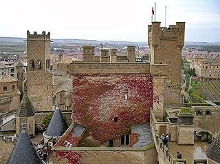 Olite,  Autonome Region Navarra, Spanien