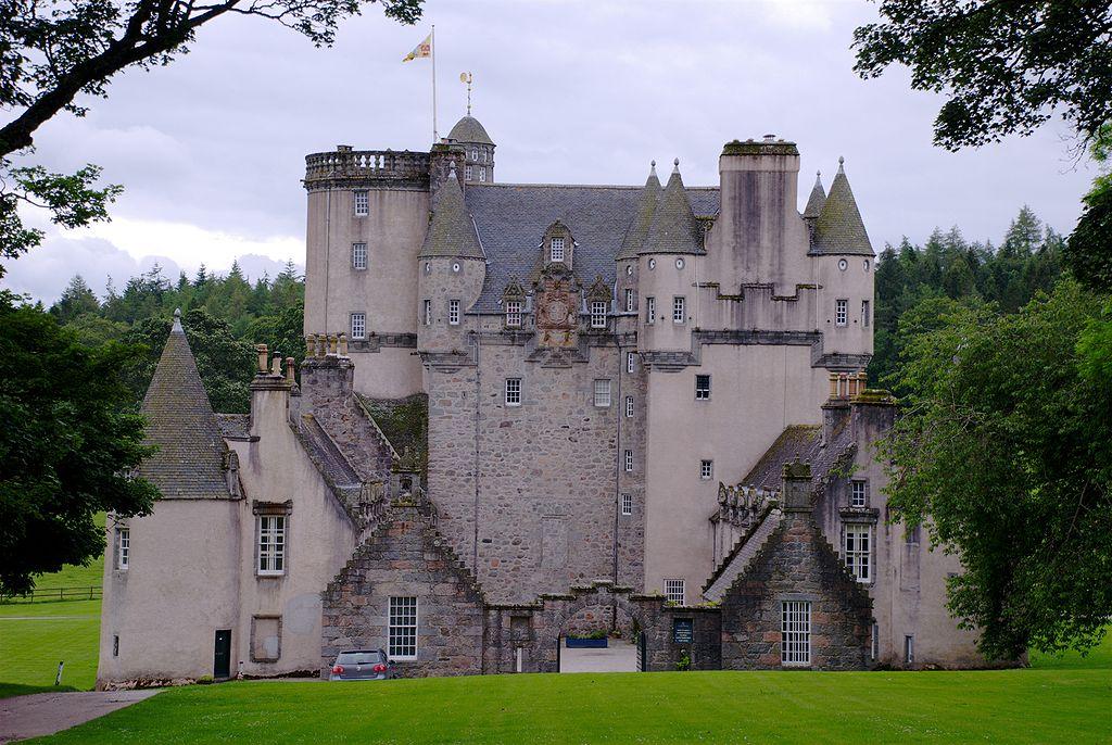 Castle Fraser, rear view