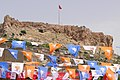 Castle with National Election Banners - Mardin - Turkey (5789540550).jpg