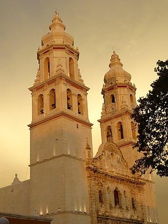 Campeche City - Image: Catedral de San Francisco de Campeche
