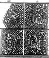 Cathédrale - Vitrail, déambulatoire, baie 52, le Bon Samaritain, deuxième panneau, en haut - Rouen - Médiathèque de l'architecture et du patrimoine - APMH00032382.jpg