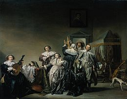 Cavaliers and Ladies 1633 Pieter Codde.jpg