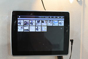 Deutsch: CeBIT 2011; Yifang Tablet PC