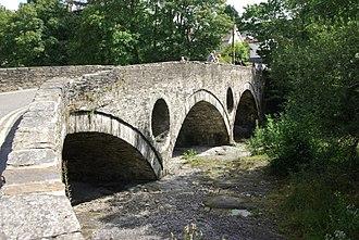 Cenarth Bridge - Cenarth Bridge from the north bank (Ceredigion)