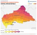 Central-African-Republic PVOUT Photovoltaic-power-potential-map GlobalSolarAtlas World-Bank-Esmap-Solargis.png