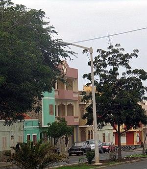 the street and home of Cesária Évora