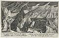 Ceyx komt om door een schipbreuk Metamorfosen van Ovidius (serietitel), RP-P-OB-15.971.jpg