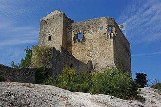 Vaison-la-Romaine - Image: Château des Comtes de Toulouse